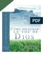 Cómo Escuchar La Voz De Dios - Guía de Seminario PDF