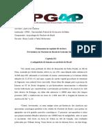 Fichamento 2 - Lauro