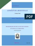 Literatura Argentina 2