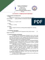 ACR LAC Session LDM Course 2 English Dept. 2020