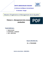 Management des ressources de la production