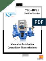 700-40 45 Manual Esp