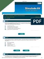 Simulado Av 1 Analise Fin e Projetos