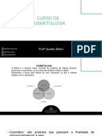 CURSO DE COSMETOLOGIA ESTÉTICA