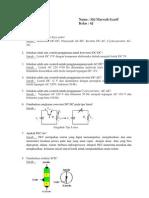 Elektronika Daya (Soal dan Jawaban)