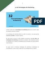 32 Tipos de Estrategias de Marketing