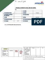 INFORME DE ABRIL SEGUNDO GRADO PRIMARIA (1)
