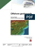 Offshore Geohazards Summary Report