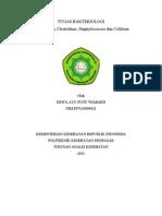 tugas Teori Clostridium,coliform,,staphylococcus,