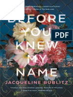 Before You Knew My Name Chapter Sampler