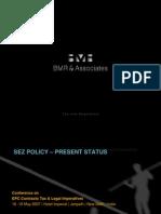 SEZ Policy- Pressent Status