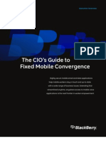 Blackberry_ Cio Guide Fixed Mobile Convergence