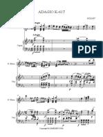 1)ADAGIO (K-617) - GlassHarp & Organ