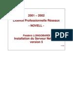 Installation Netware Server _ Novell