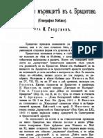 М. Георгиев - Арнаутите и мърваците в Брацигово, 1905