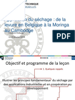 Application du séchage  ULB
