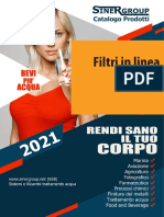 Filtri in linea catalogo