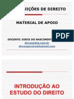 Aula 01 - No€¦ções de Direito - Introdu€¦ção