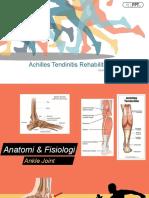 PPT Achilles Tendinitis Rehabilitation Program