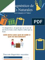 DIAGNOSTICO CS NATURALES 4 2021