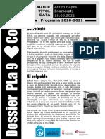 Dossier Pla 9 - Codi 80