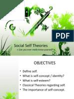 Social Self Theories