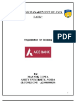 1144. WORKING MANAGEMENT OF AXIS BANK