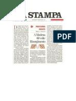 Mucchi editore su La Stampa