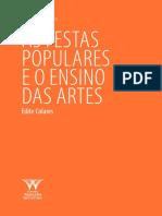 AC_AS FESTAS POPULARES E O ENSINO DAS ARTES 2015