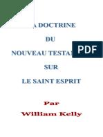 William Kelly_LA DOCTRINE du ST-ESPRIT Dans  LE N.T