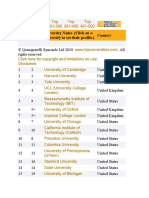 2010 ranking
