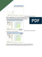 Buka Peta yang akan diregistrasi dengan menggunakan menu file
