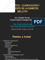 1.DM Generalidades, Clasificacion y Tratamiento (Dra. Garrido)