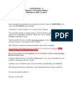 Atividade II (CORRETA)