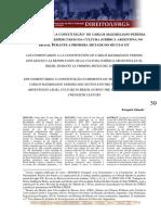 """Os """"Comentários à Constituição"""" de Carlos Maximiliano Pereira"""