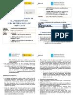 Calendario e planificacion do Curso AFD de Operacións auxiliares de mantemento en electromecánica de vehículos IES García Barbón