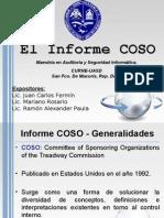 Informe COSO - Grupo 8 - CURNE-UASD