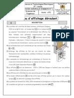 DSC1 2STE ATC 2015 2016 Panneau d'Affichage Déroulant