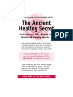 The Ancient Healing Secret