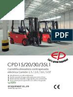 CPD15,20,30,35L1 SP Datasheet