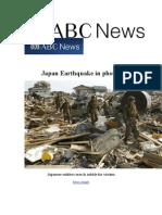 Japan Earthquake in Photos