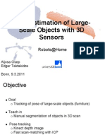 Pose Estimation of Large Scale Objects With 3D