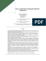 PROFESSOR COOPERANTE Rodrigues_AL Et Al._2016_INCTE_O Papel Do Professor Cooperante Na Formação Inicial de Professores