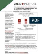 Angus Reid Hockey Culture Survey