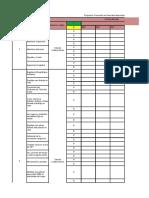 Cronograma Prevención en Desorden Musculoesquelético D.M.E.