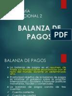 3. Balanza de Pagos