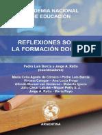 ReflexionesSobreLaFormacionDocente. (2015)