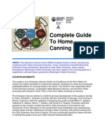 USDA Guide to Canning