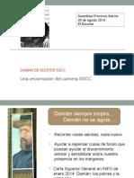 Damián de Veuster y Carisma Sscc (Esp)