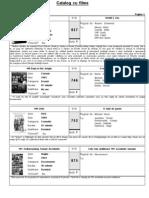 Catalog filme